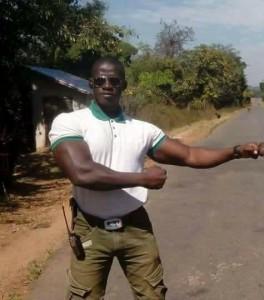 Le garde de corps Amadou SOW  présumé tueur de M.Koula DIALLO